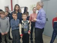 Наши волонтеры на образовательной экскурсии