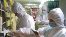 Волонтёры техникума пришли на помощь сосновоборским врачам