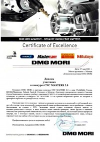 Итоги конкурса CNC MASTERS 2.0 от DMG MORI